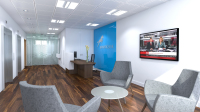Union Bank reception design