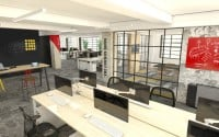 BridgeU office fit out